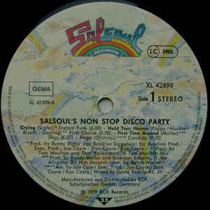 Various- Salsoul's Non Stop Disco Party