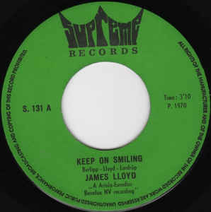James Lloyd- Keep On Smiling/ If You Belong To Me