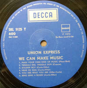 Union Express- We Can Make Music