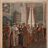 LE PETIT JOURNAL DIMANCHE 17 AVRIL 1898 Affaire Zola-La Cour de cassation