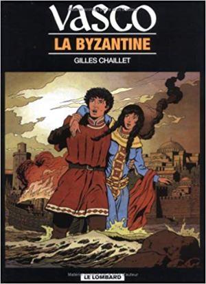 Vasco, tome 3 : La Byzantine de Chaillet