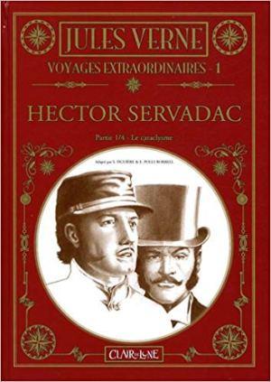Voyages extraordinaires, Tome 1 : Hector Servadac : Partie 1, Le cataclysme de Jules Verne, Esteve Polls Borrell &  Samuel Figuière