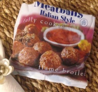 Trader Joe's Italian Meatballs