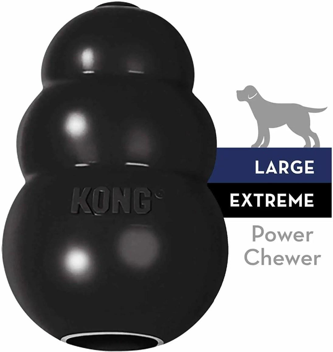 il miglior gioco per cani kong nero extreme indistruttibile