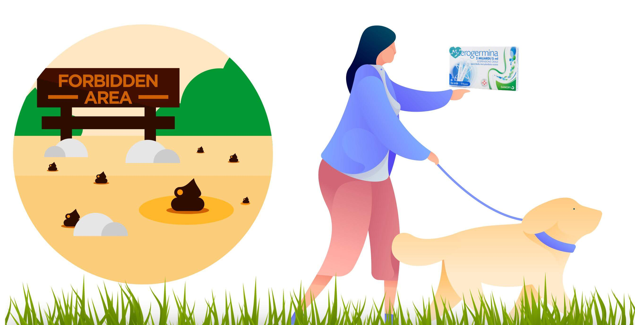 Diarrea del cane- Si puo dare enterogermina al cane - curare la diarrea del cane con fermenti lattici 4