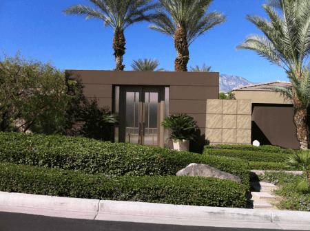 Rancho Mirage modern design with desert browns