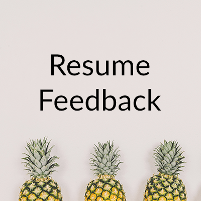 resume feedback the color coded life