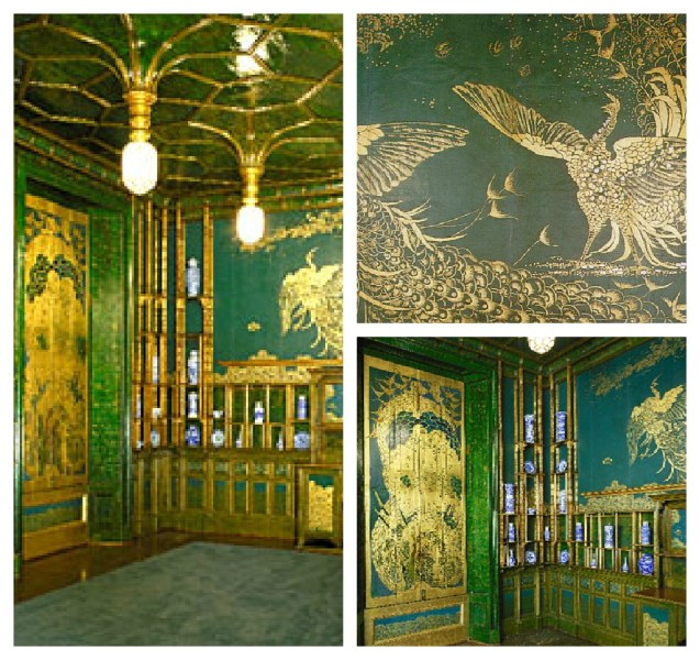 emerald green room ideas Archives   The Colorful BeeThe Colorful Bee James McNeill Whistler s Reacock Room