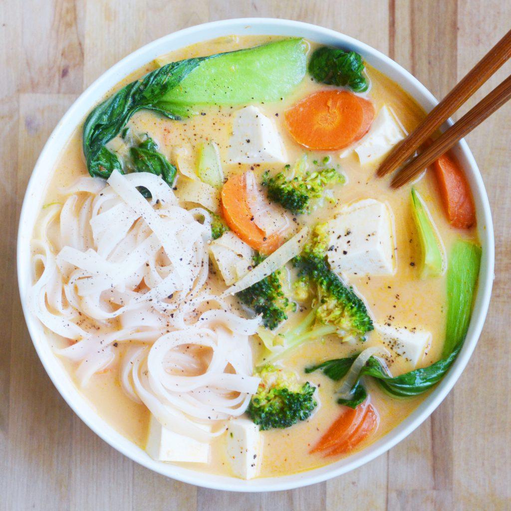Coconut Curry Noodle Soup My Favorite Takeout Copycat