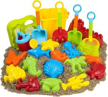 set of sand toys