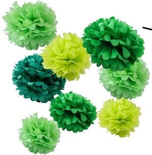 Tissue Pom Poms Flower Party Decorations for Baby Showers