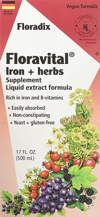floravital iron supplement