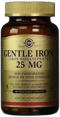 solgar gentle iron supplement