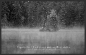 island-of-the-spirits-of-govan-lake-bw
