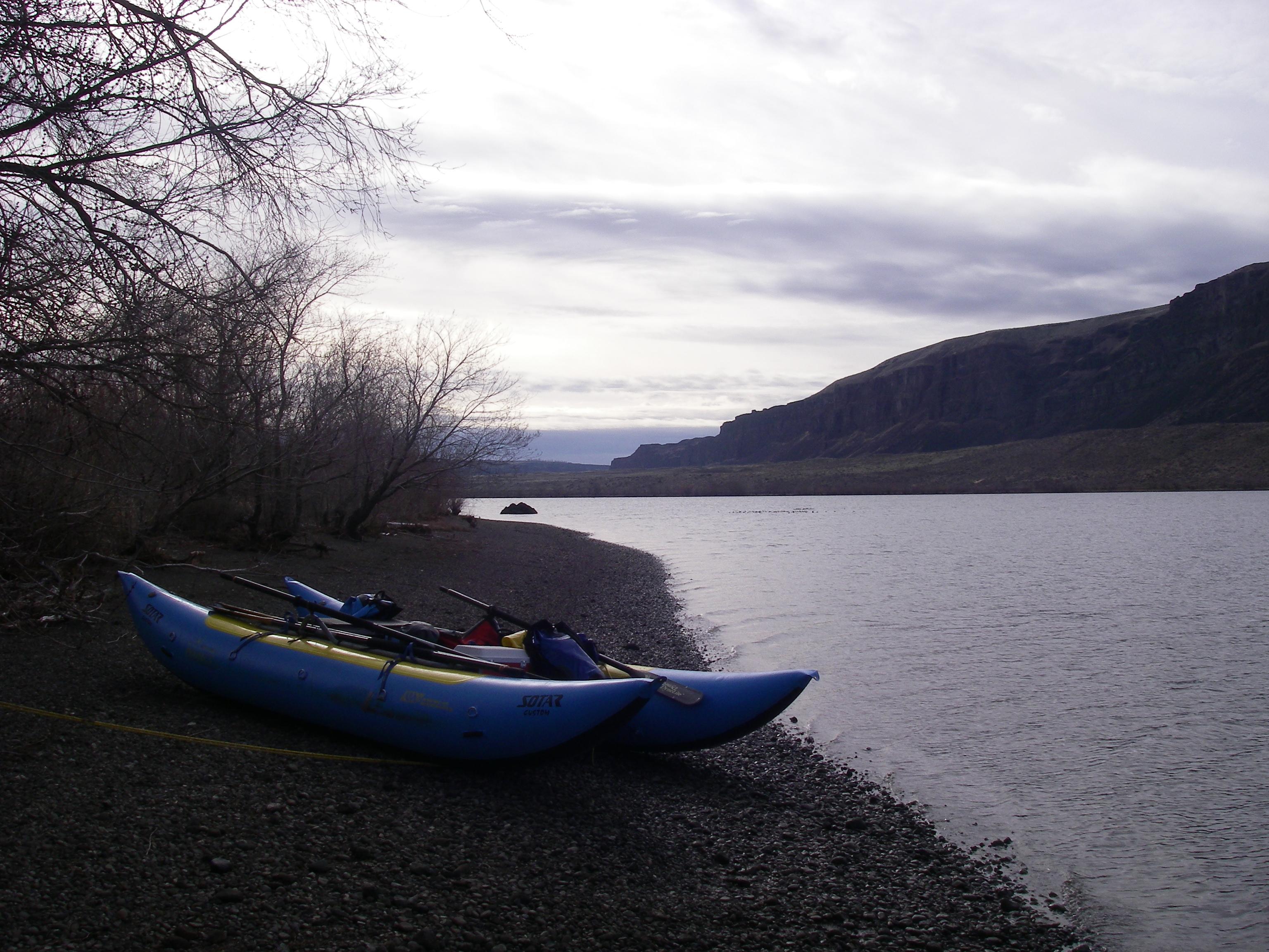 Campground below Rocky Reach Dam.
