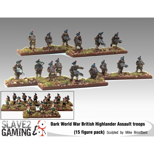 "Scottish Highlander ""Black Watch"" Assault Infantry"