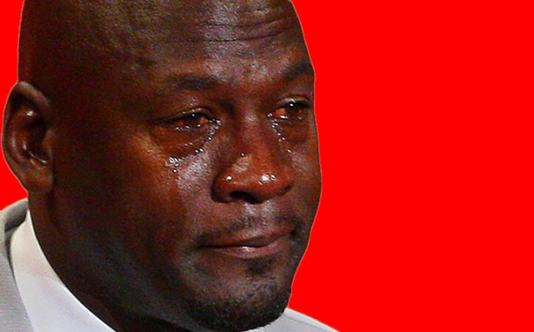 Attention The Crying Michael Jordan Meme Is Being Replaced By