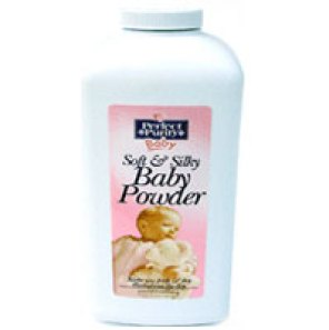 Bottle of Perfect Purity Baby Powder