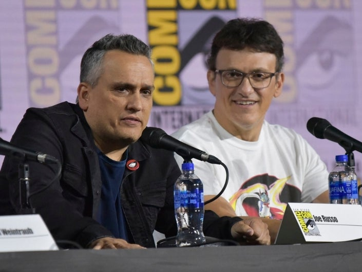 Joe and Anthony Russo at San Diego Comic Con 2019