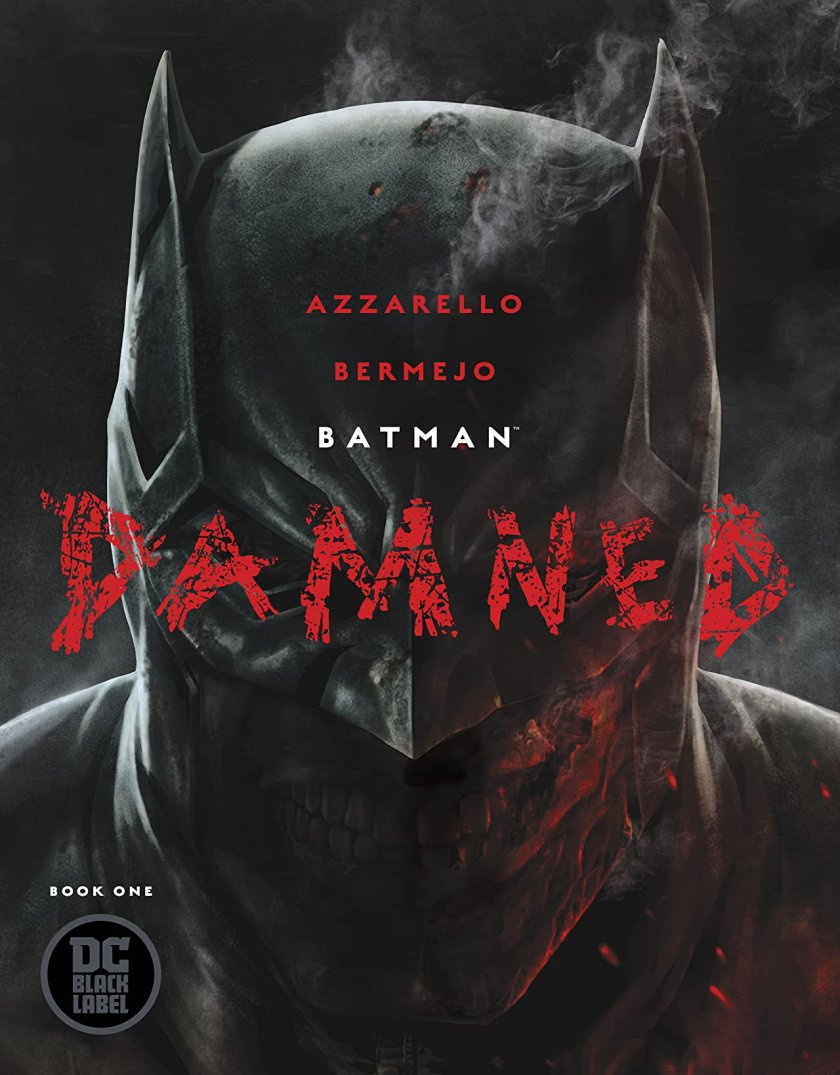 dc comics batman damned