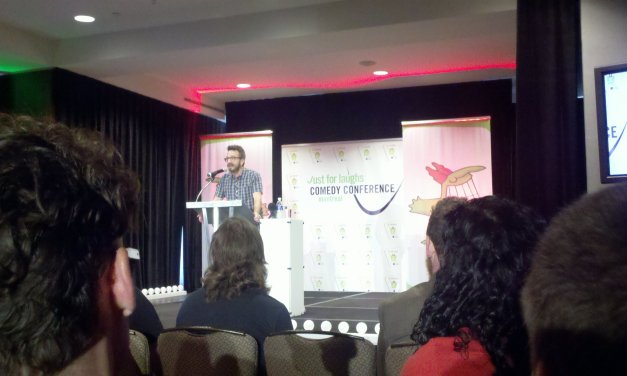 Marc Maron's powerful keynote address at Montreal's JFL 2011
