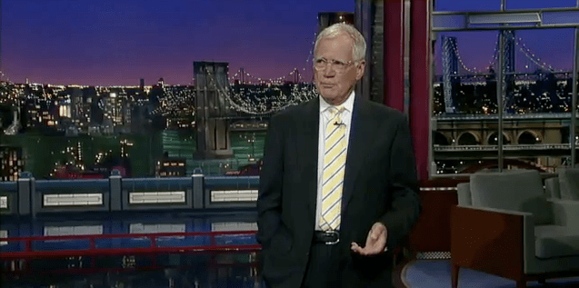 David Letterman responds to jihad threat with jokes, jokes, more jokes