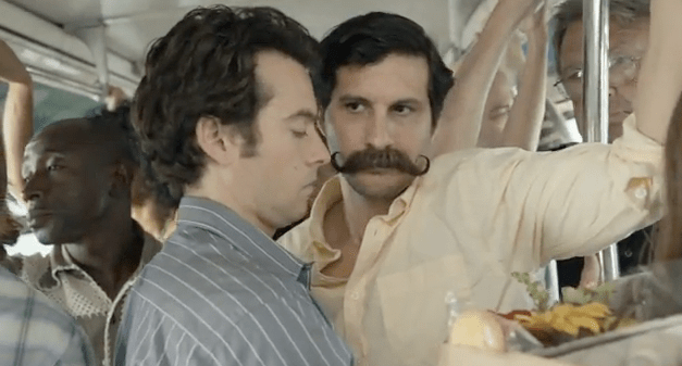 [Sponsored post] Heineken asks: When is a handlebar mustache appropriate?