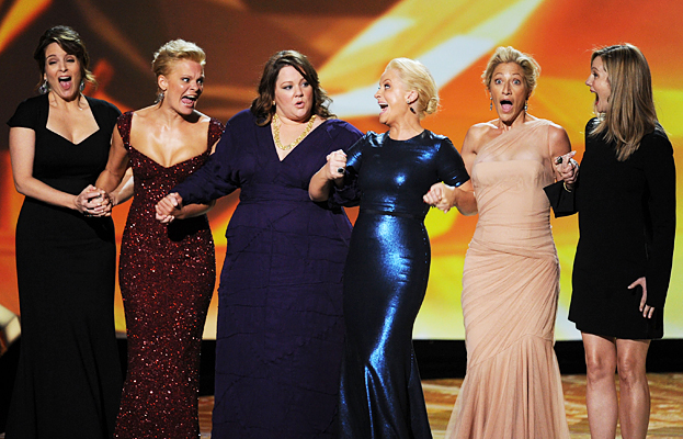 Comedy winners from the 2011 Emmy Awards