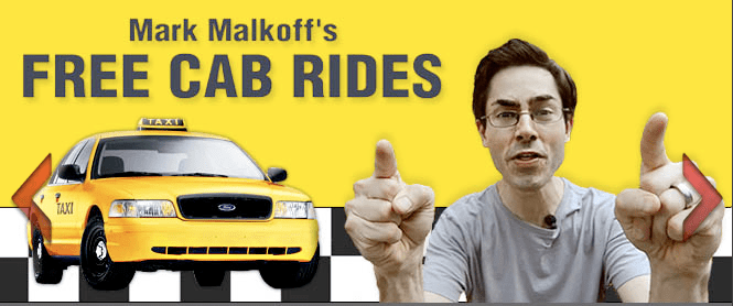 For his next trick, Mark Malkoff rents a NYC taxi, offers free cab rides for a day