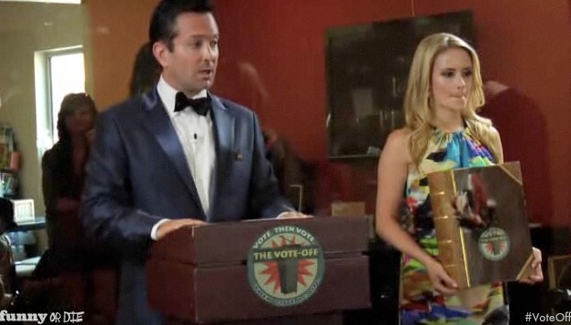 "Thomas Lennon shines as host of ""The Vote Off"""