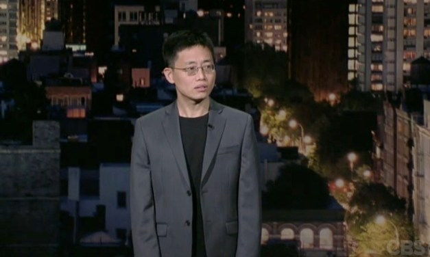 Watch Joe Wong's third appearance on Letterman