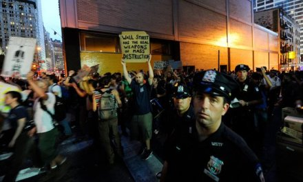 Ted Alexandro finds himself in the middle of Occupy Wall Street, writes about it