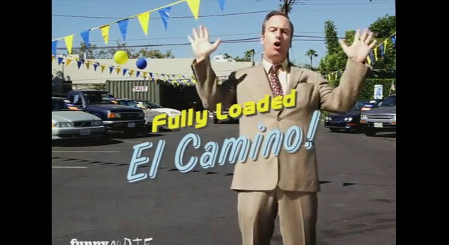 "Bob Odenkirk helps sell The Black Keys new album, ""El Camino"""