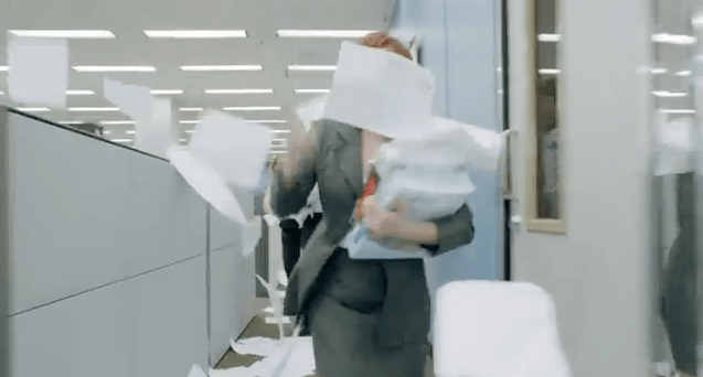 "[Sponsored Post] Domtar imagines a paperless version of ""The Office"""