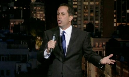 On Letterman, Jerry Seinfeld ponders phone technology, boner pills