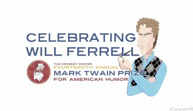 Will Ferrell receives the 2011 Mark Twain Prize for American Humor