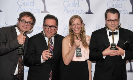 Nominees for TV comedy in the 2012 Producers Guild and Writers Guild awards