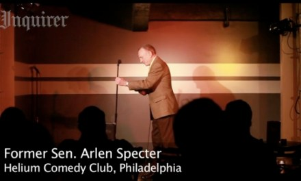 Open mic: Former U.S. Senator and presidential candidate Arlen Specter