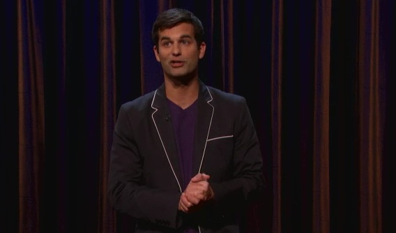 On Conan, Michael Kosta reveals the real lives of hot chicks