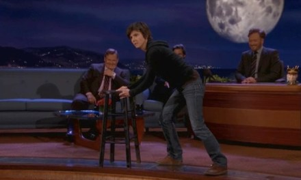 Some comedians push the envelope; on Conan, Tig Notaro pushes the stool
