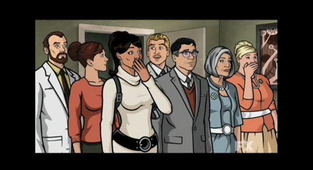 "H. Jon Benjamin animated as you've never seen him before in ""Archer"""