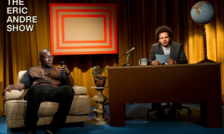 Hannibal Buress describes The Eric Andre Show, coming to Adult Swim on May 20