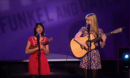 "Garfunkel and Oates talk about their goals, song process and ""Making It"""