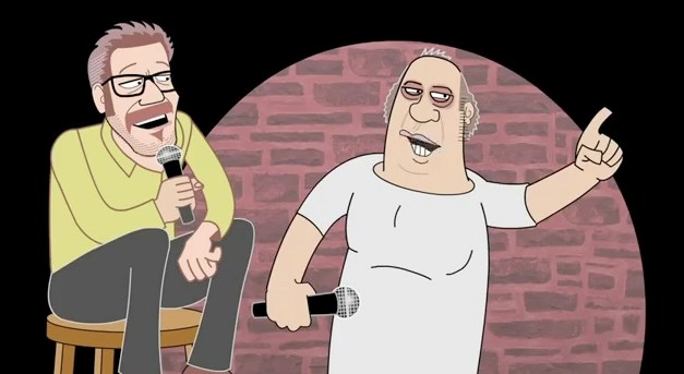 "Eddie Pepitone gets animated in this clip from the documentary, ""The Bitter Buddha"""