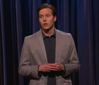 Cy Amundson's debut on Conan