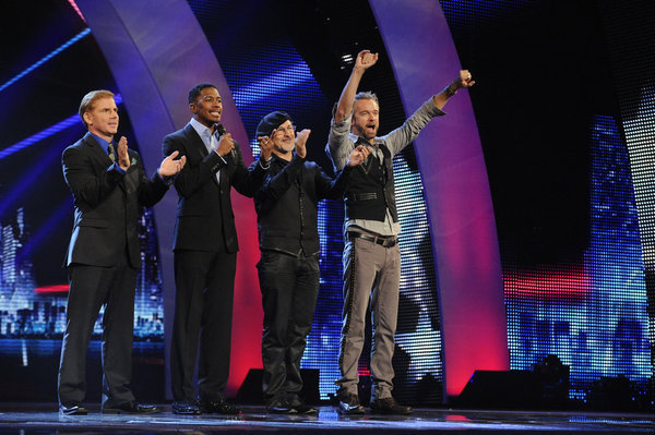 Tom Cotter advances to finals of America's Got Talent 2012