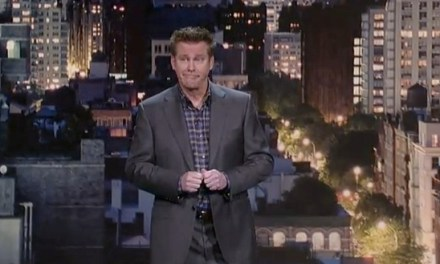 Brian Regan's 25th appearance on Letterman