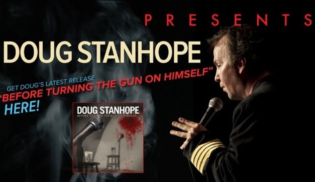 "Doug Stanhope's ""Before Turning the Gun on Himself,"" CD/DVD and Showtime; plus his 2012 tour dates"
