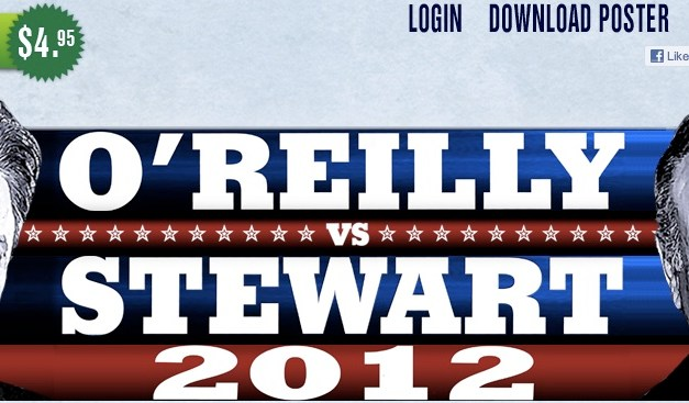 Jon Stewart, Bill O'Reilly to face off in live debate before 2012 elections