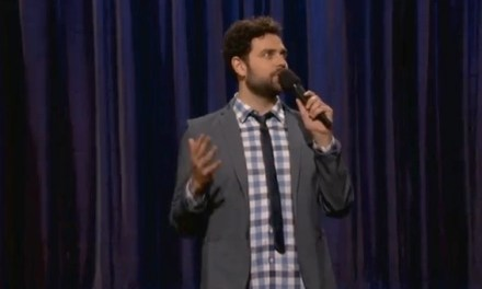 Barry Rothbart on Conan, thinks he'd make a good dad